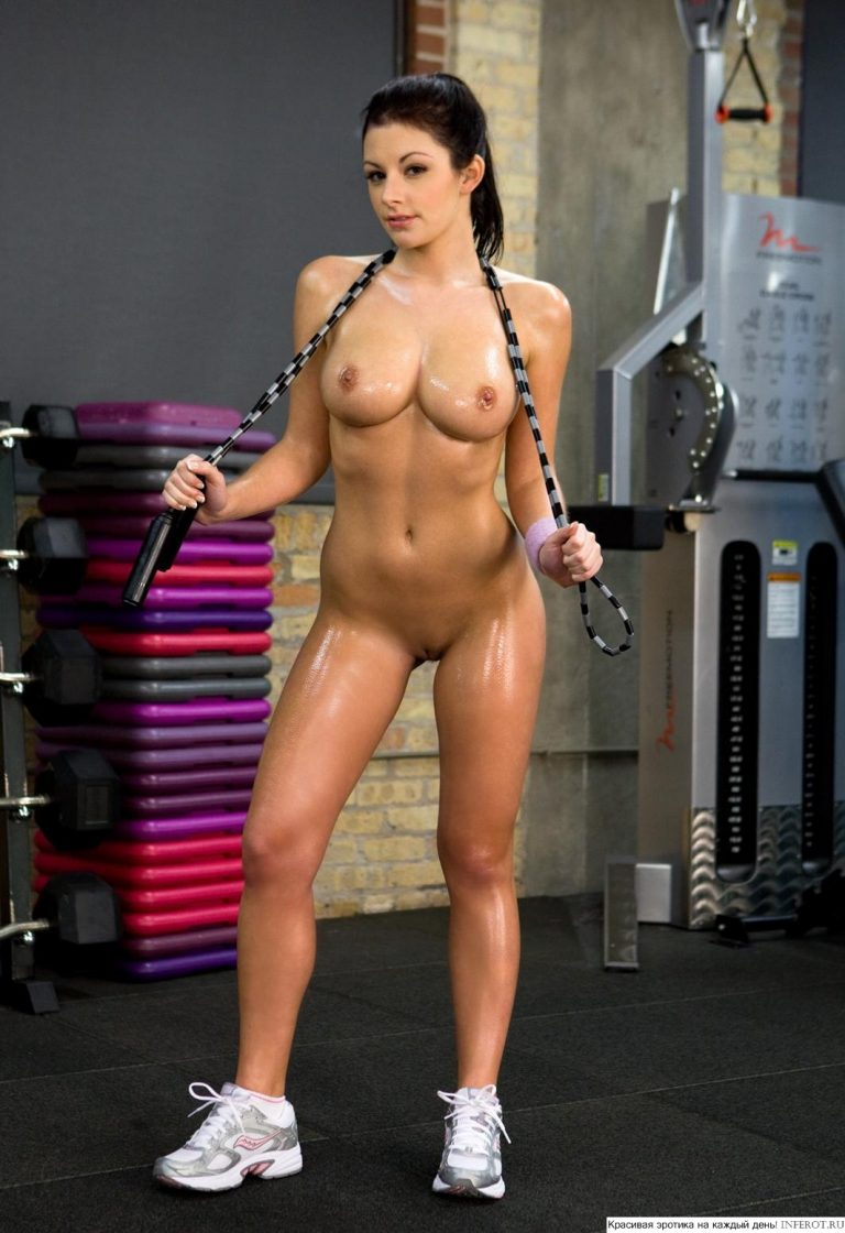 Gym female nude anderson